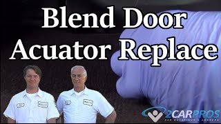 Blend Door Actuator Replacement Chevrolet GM