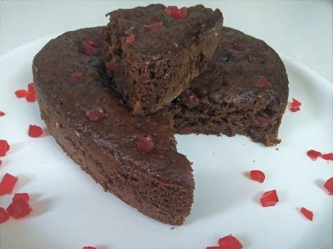 Video घर पर बनाएं yummy एग्ग्लेस आटा केक | Eggless Atta Cake Recipe| Chocolate Atta cake recipe
