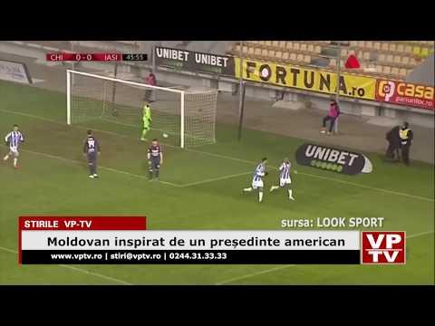 Moldovan inspirat de un președinte american