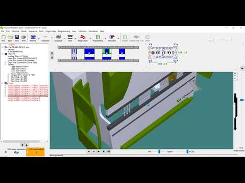 Offline programming for press brakes & sheet metal bending 3D simulation