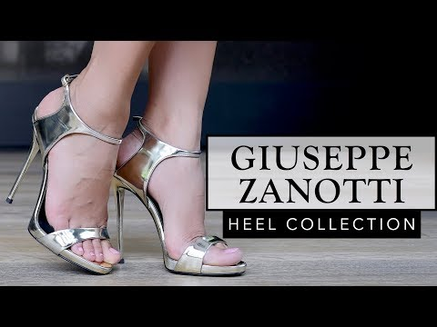 MY ENTIRE GIUSEPPE ZANOTTI HEEL COLLECTION | Sonal Maherali