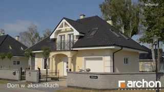 Projekt domu w aksamitkach