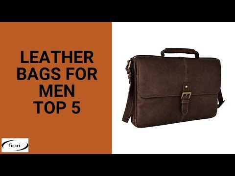 5fd05479b47a Leather Bags for Men - Top 5
