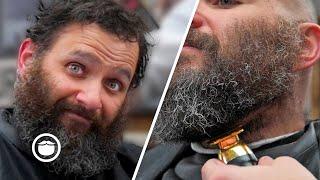 Guy Transforms From Mountain Man to Modern Day Viking