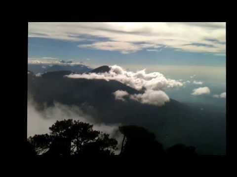 Santa Maria vulkan Guatamala