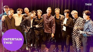 Chris Martin sings 'My Universe' ahead of BTS, Coldplay release | New Music Friday | Entertain This