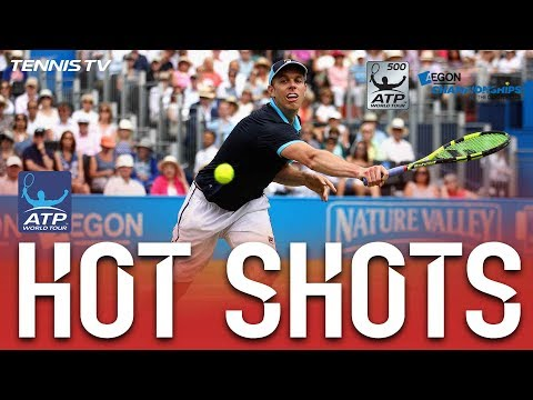Hot Shot: Querrey Cat And Mouse At London Queens 2017