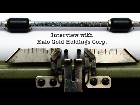 Chris Thompson with Kevin Ma on the newly listed KALO Gold a ... Thumbnail