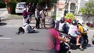 Mahasiswi di Bali Tewas Terjatuh saat Dibonceng Pacar, Diduga karena Mengantuk