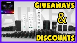 Aukey Giveaways and Discounts - Keyboard / USB gadgets / Headphones