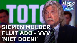 Toto-voorspelling: Siemen Mulder fluit ADO - VVV 'Niet doen!'   VERONICA INSIDE
