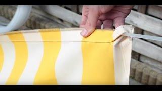 Het opmeten van de doekpeesdikte van uw zonweringdoek