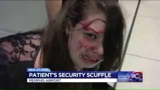 Completely Unacceptable! 19yo Hannah Cohen Beaten by TSA