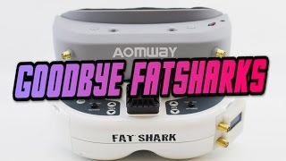 Aomway VS Fatshark | OMG NEW BEST FPV GOGGLE? Aomway commander goggle fpv review