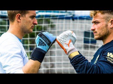 Adidas Predator PRO vs Puma Future GRIP - Goalkeeper Gloves Test