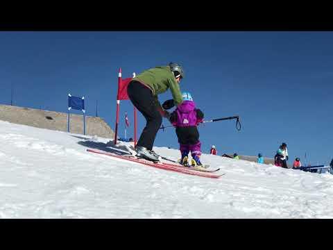 Impressionen aus dem Skigebiet Hemberg
