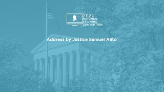 Click to play: Address by Justice Samuel Alito