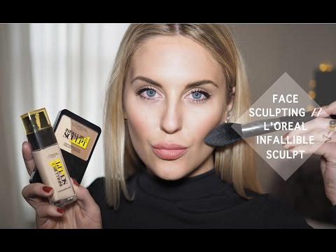 Easy Face Sculpting with L'Oreal Infallible Sculpt Collection : Tutorial + Review || STYLE LOBSTER