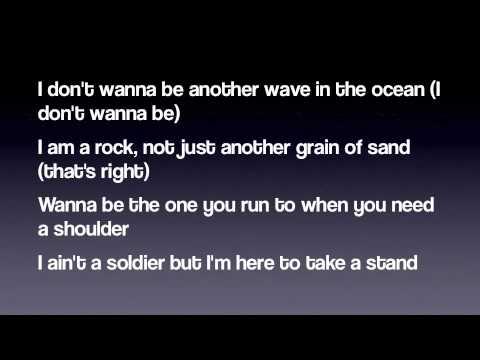 Bon Jovi - Because We Can (Lyrics) 2013