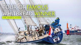 Skipper's Tour Of Famous Whitbread Race Winner Flyer   Yachting World
