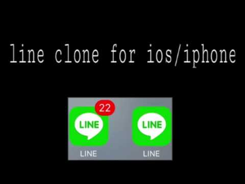Video cara membuat line clone di ios / iphone ( no jailbreak ❌ )