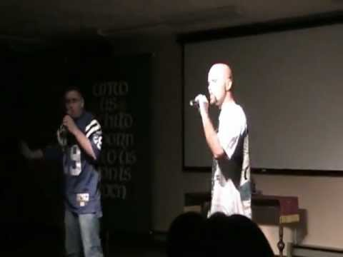 Lil' G and Blinky D Christian Hip Hop Show part 1