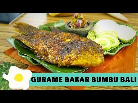 Resep Gurame Bakar Bumbu Bali