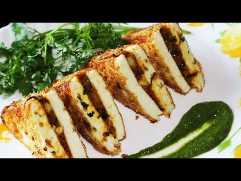Stuffed Paneer Kebabs | Easy To Make Paneer Appetizer | Veg Starter Recipes
