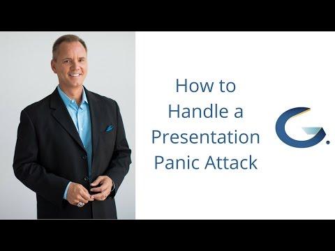 How to handle presentation panic