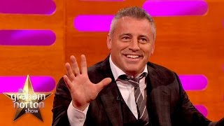 Matt LeBlanc chante des chansons de Friends - The Graham Norton Show (Mai 2015)