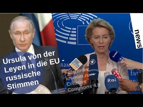 Ursula von der Leyen in die EU: Russische Stimmen [Video]