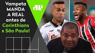 Vampeta projeta Corinthians x São Paulo e vê clássico decisivo para futuro de Mancini