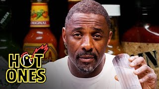 Video Idris Elba Wants to Fight While Eating Spicy Wings | Hot Ones MP3, 3GP, MP4, WEBM, AVI, FLV Agustus 2019