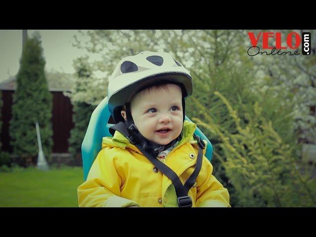 Видео Велосипедный шлем Abus SMILEY 2.0 black space
