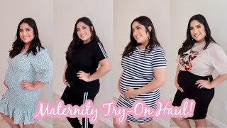 MATERNITY CLOTHING TRY-ON HAUL! SHEIN & Missguided!