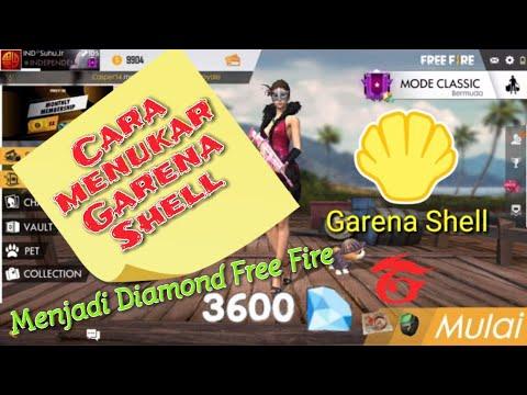 Cara Menukar Garena Shell Menjadi Diamond Free Fire