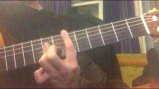 Teoman - Kupa Kızı Ve Sinek Valesi (Klasik Gitar Cover) Akor - Tab Ve Solo