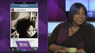 Loni Shows Off Her Natural Hair