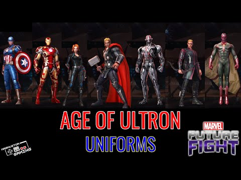 MARVEL: Future Fight - Avengers Age of Ultron Uniforms