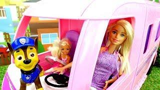Щенячий патруль нашли ключи Барби. Мультики для детей