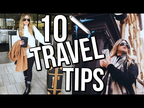 How To Make Traveling Easier | 10 WAYS + HACKS