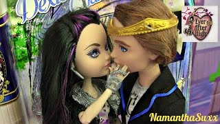 EVER AFTER HIGH RAVEN QUEEN & DEXTER CHARMING FAIRY FIRST DATE 2 PACK DOLL REVIEW VIDEO!!! :D!!