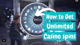 How To Get UNLIMITED Casino Spins in GTA 5!!