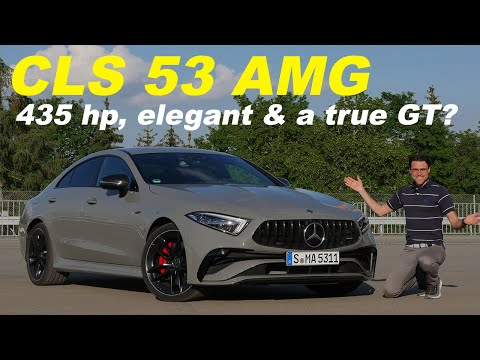 2022 Mercedes CLS 53 AMG facelift driving REVIEW - the best Benz GT?