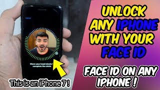 How To Get FACE UNLOCK on Any OLD iPhone | Unlock iPhone With Your Face | iPhone 5s,6,6s,SE,7,8 |