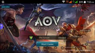 Arena Of Valor Using Mocute Gamepad  Tutorial Without Root  Works