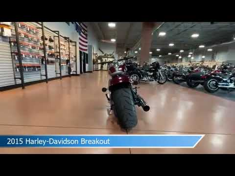 2015 Harley-Davidson Softail Breakout FXSB103