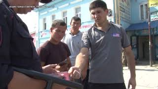 Тульское УМВД обнародовало видео проверки мигрантов на Центральном рынке