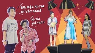 """Thời trang của Sam bị đàn anh Trấn Thành, Ngô Kiến Huy """"lên án"""" không trượt tập gameshow nào   SML"""