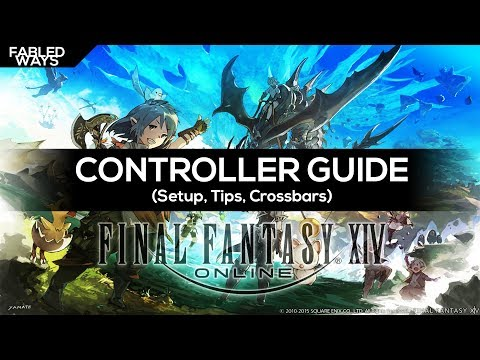 FFXIV Monk Controller and Macro Guide [Level 70] - смотреть